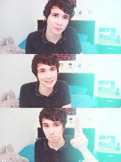 Dan's hobbit hair is literally the cutest thing ever