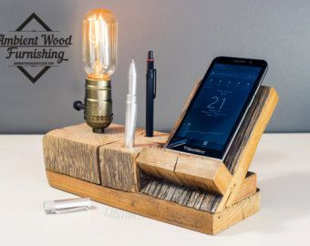 Micro Utility Station Lamp With Electronic Docking Station