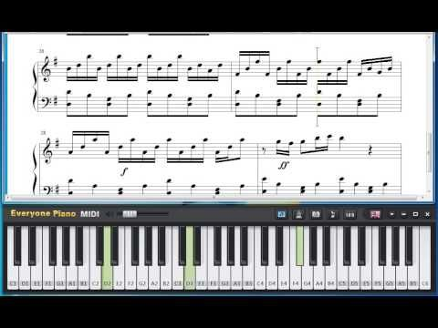Free Comptine d'un autre été : L'Après-Midi Easy Version - Yann Tiersen Piano Sheet Music Tutorial - YouTube