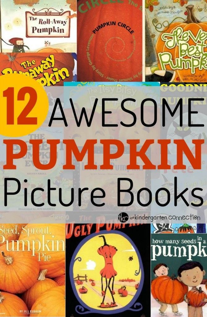 Must have books about pumpkins!