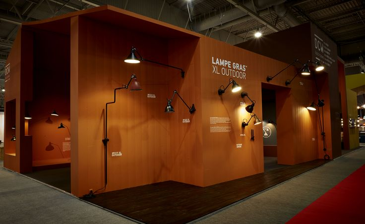 Lampe Gras XL Outdoor range presented at Maison & Objet Paris, January 2016