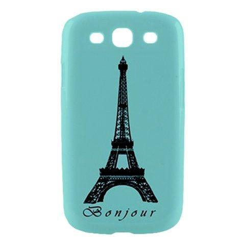 Paris Eiffel Tower Samsung Galaxy S3 SIII S III Hardshell Case Cover   Bonjour !