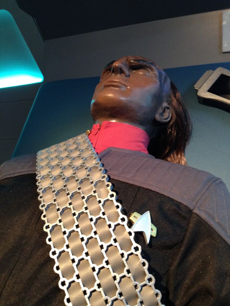 """A prop from Star Trek: The Starfleet Academy Experience at the Aviation Museum, summer 2016. """"I do not expect you to understand.  You are a Romulan."""""""