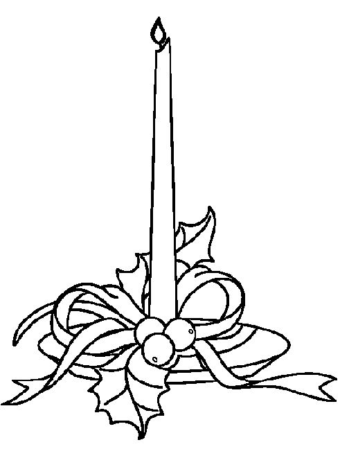 coloring page - Advent Week 3