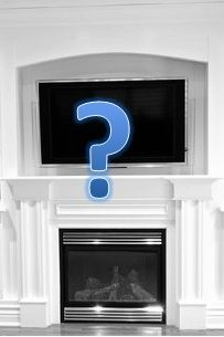 The TV Above Fireplace Debate I Dont Like TVs Living Room LayoutsLiving