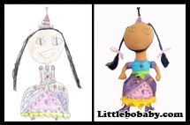 doll plush toy by little bo babies copy