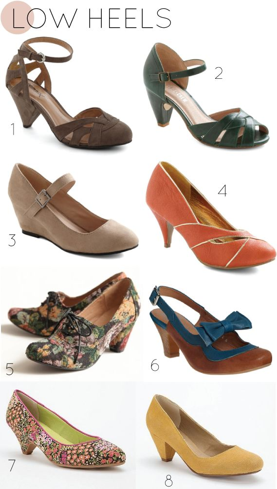i've been scouring the web for a new pair of fall shoes, so i thought i would share with you the ones that caught my eye!