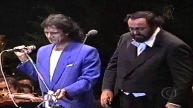 Roberto Carlos & Luciano Pavarotti (1998) - Ave Maria _ O Sole Mio                                                                                                                                                                                 Mais