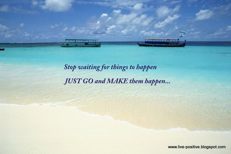 Simple Quotes About Life Spanish: Inspirational Quotes In Spanish With Blue Beach Picture