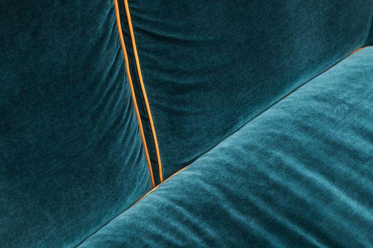 Harald by Kvadrat/Raf Simons on Erik Jørgensen sofa