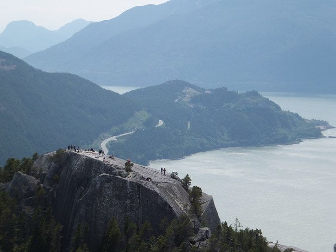 See British Columbia's Howe Sound from the Sea to Sky Gondola.