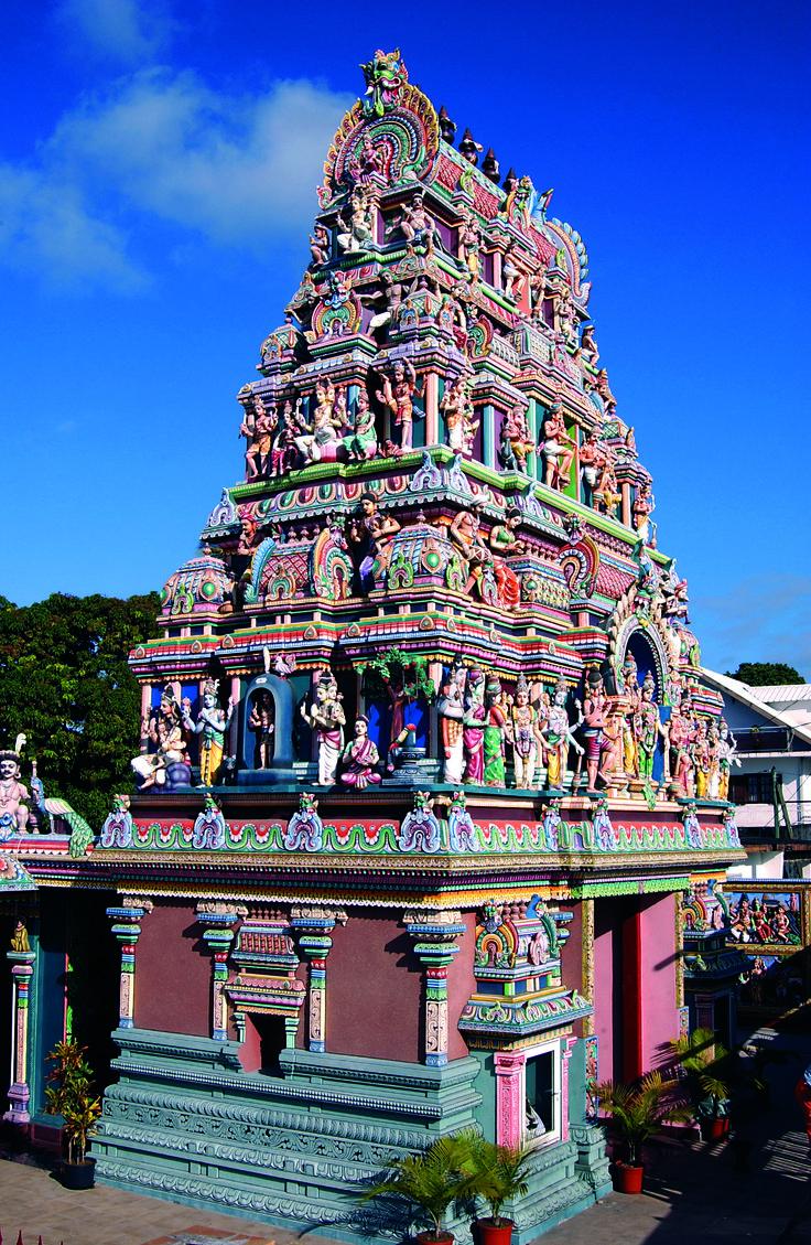 Hindu temple - Reunion Island