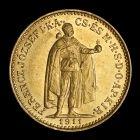 Mince: 10 Koruna 1911 KB - FRANTIŠEK JOZEF I.