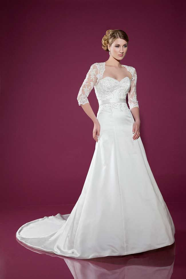 6 wedding gowns with the wow factor from Benjamin Roberts
