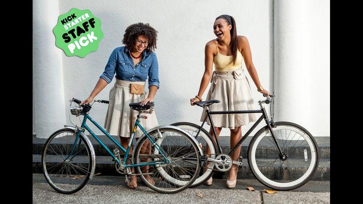 The Bicycle Wrap Skirt | Function + Style by Lara —Kickstarter