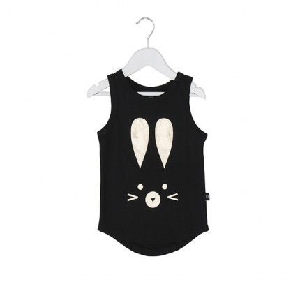 Hux Bunny Drop Back Singlet