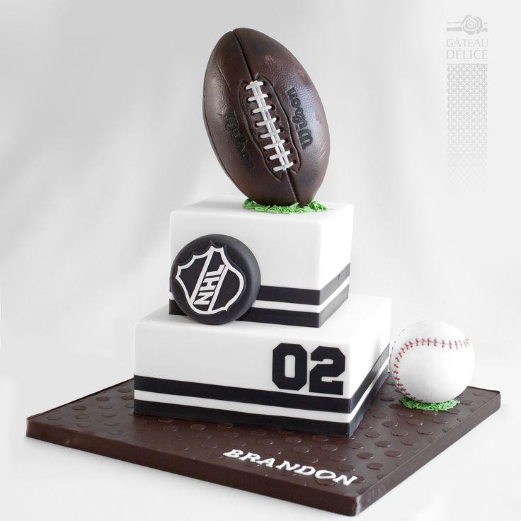 Gâteau multi-sports