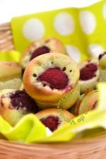 recettes muffins, framboise, flexipan, muffins rapides