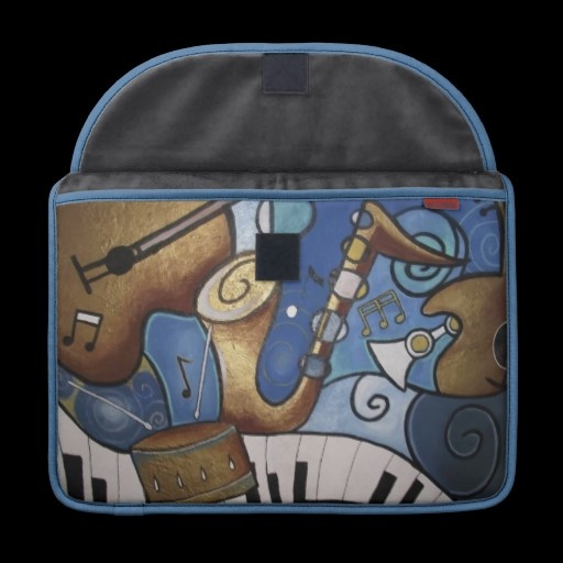 Musical Instruments Laptop Sleeve MacBook Pro Sleeve
