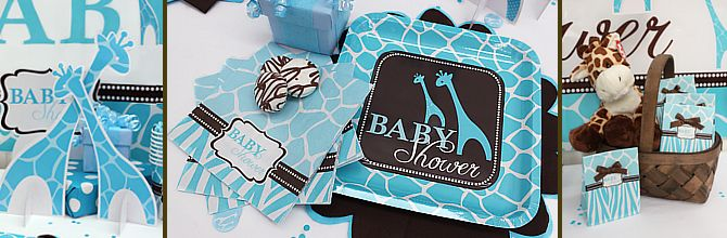 blue zoo baby shower supplies baby shower decorations zoo animals 670x220
