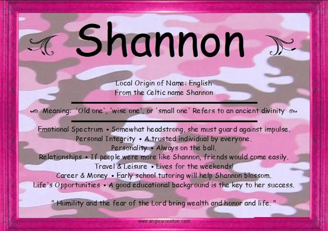 10 best images about Shannon on Pinterest | Inspiring ...