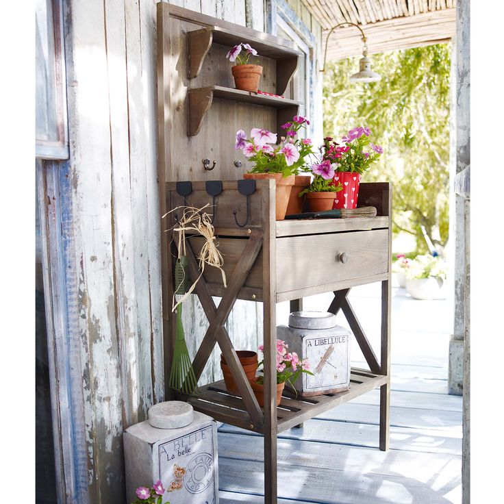 Perfect Potting Table 65 best Garden Bench