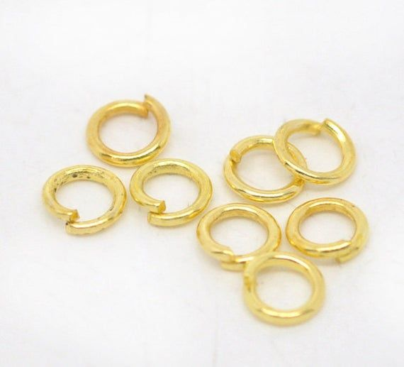 5mm Silver Toned Jump Ring Strong Jumpring for Pandent Jewellery Making Craft
