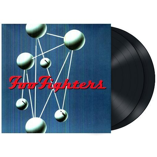 "L'album dei #FooFighters intitolato ""The Colour And The Shape"" su doppio vinile."