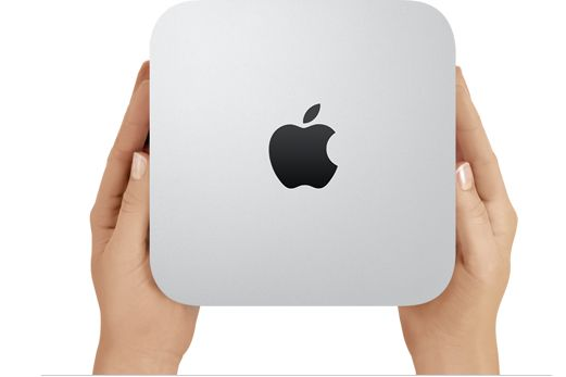Mac Mini... I am a major Mac girl and the hubs surprised me today with the new Mac mini! Luv!