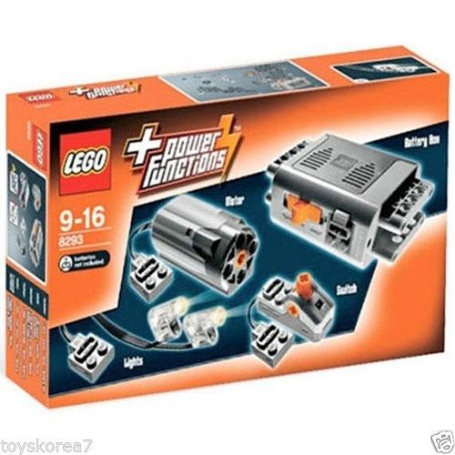 LEGO TECHNIC Power Functions 8293 Motor Set NEW Factory Sealed