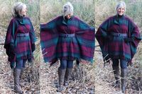 Une couverture pour faire un manteau