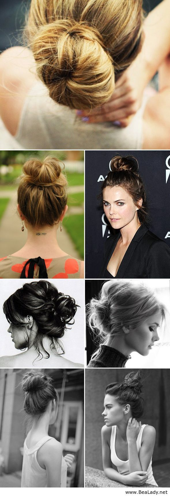 Beautiful buns for every day