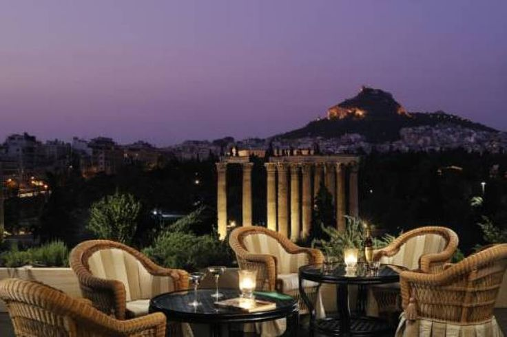 A short walk from the Acropolis, 5-star Royal Olympic Hotel