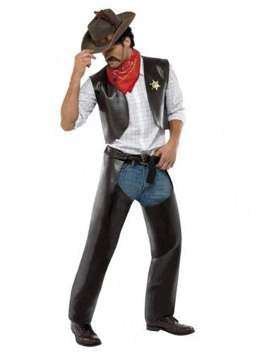 Village People Cowboy Costume. Village people fancy dress party. Get your costumes from Costume Direct online store.