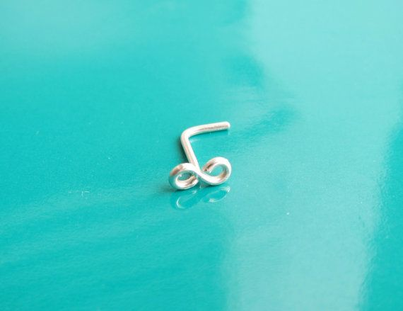 Check out this item in my Etsy shop https://www.etsy.com/listing/174723423/tiny-infinity-piercing-nose-ring