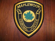 MAPLEWOOD NEW JERSEY POLICE PATCH