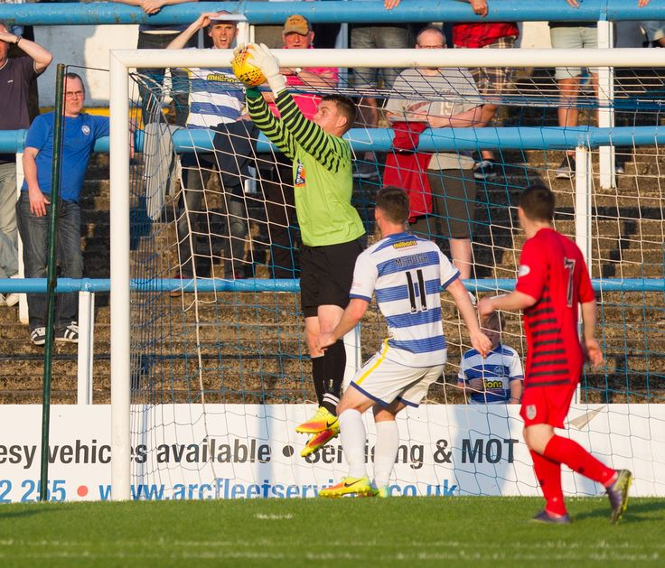 Queen's Park's Wullie Muir in action during the Betfred Cup game between Morton and Queen's Park