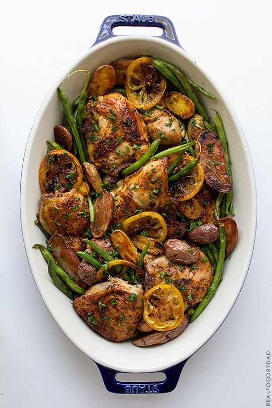 Braised Chicken with Green Beans and Potatoes