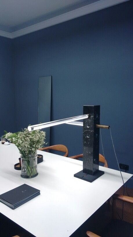 Marble table luminaire
