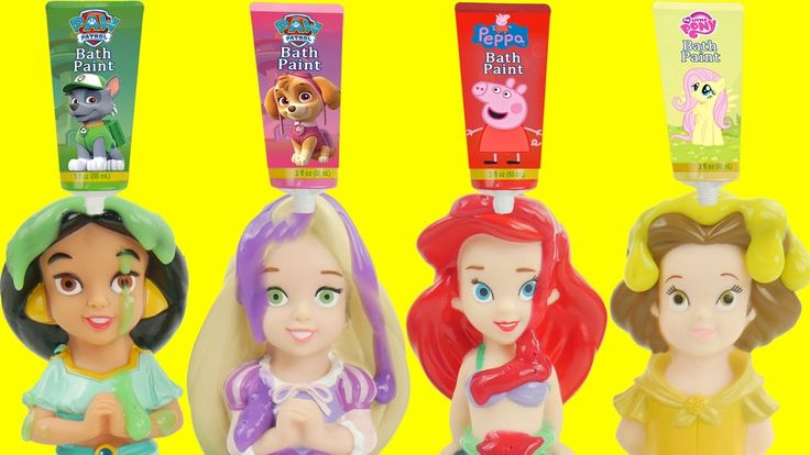 Disney Princess Bath Time Soap LEARN COLORS with Ariel Rapunzel Jasmine Belle Toy Surprises by Sparkle Spice. Ariel Belle Jasmine Rapunzel and more Disney Princesses join us for bath time and surprise toys. The surprises are from Disney Princesses My Little Pony Poop Emoji Shopkins and more. This is an educational learning video with toys that can help with eye-hand coordination fine motor skills and learning English as a second language (ESL).  Subscribe here to never miss a video…