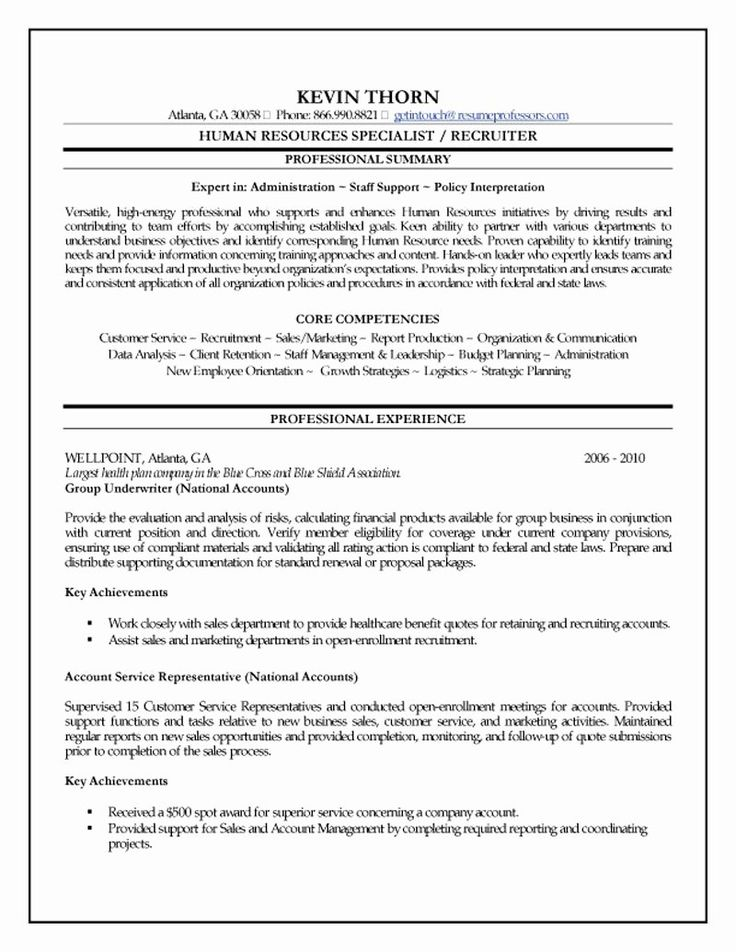 Entry Level Human Services Resume Luxury Human Resources