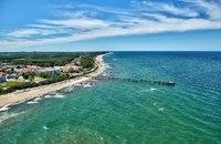 "Kuehlungsborn, a seaside resort between Wismar and Rostock, bills itself as the ""German Riviera"""