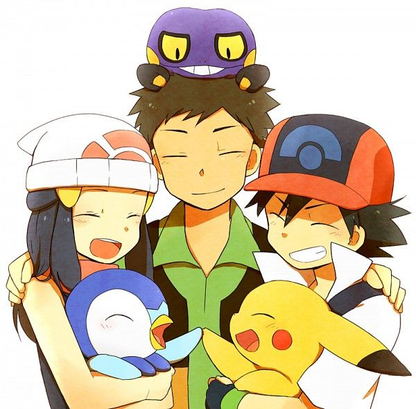 Pokemon Dawn: 103 Best Ash, Dawn And Brock Images On Pinterest