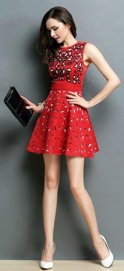 Nieuwe high end merk in het voorjaar 2015 rode beroemdheid dress donkerblauw een lijn kralen mouwloze jurk was dun vestidos femininos in new summer organza 2015 fashion ladies' elegant personality white two