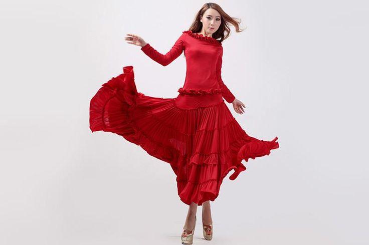 Соременный костюм на танец фламенко