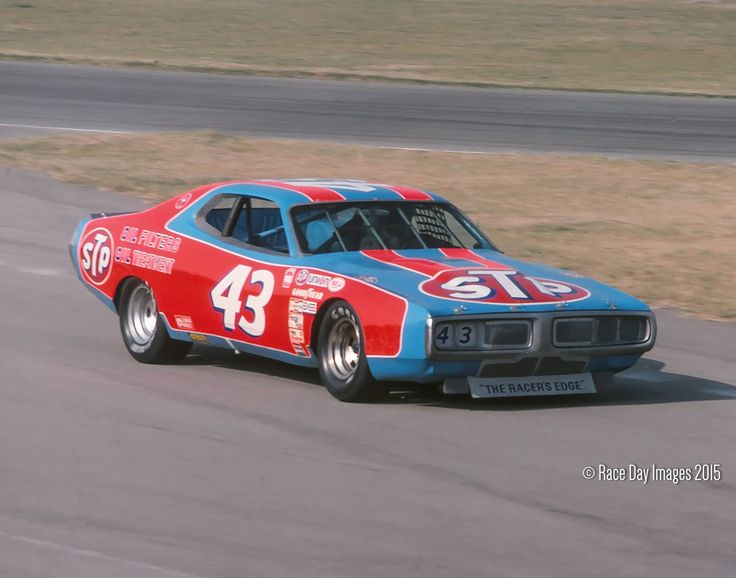 Richard Petty Dodge Charger LA Times 500 Ontario Speedway 1977