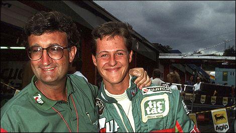Shumi and Eddie at Jordon Racing