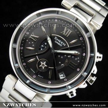 BUY Casio Sheen Glass bezel Sapphire Ladies Watch SHE-5515BD-1A, SHE5515BD - Buy Watches Online | CASIO NZ Watches