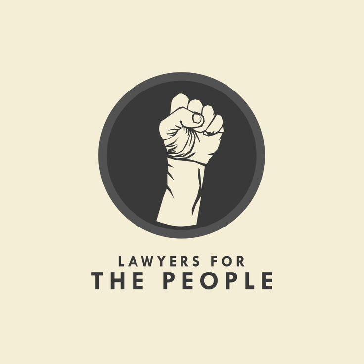 31 law firm logos that raise the bar. Lawyers for the people logo design by TRYBYK. #humanitarian #branding #legal