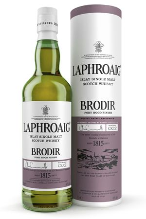 There's Whisky in the Air — Laphroaig's Brodir was launched last year across...